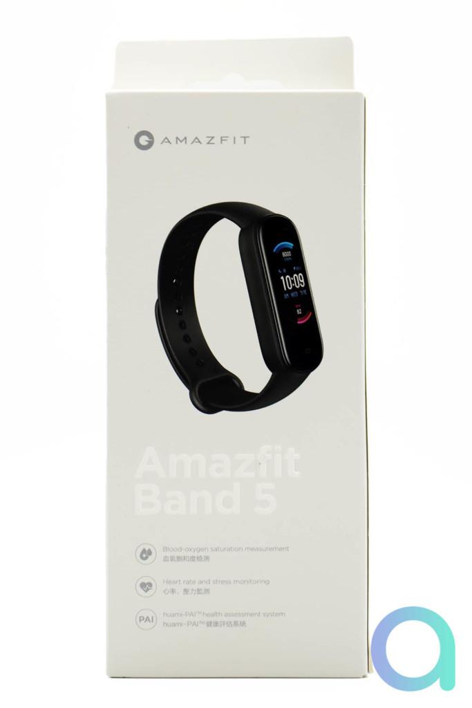 Présentation et avis du bracelet connecté Amazfit Band 5