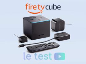 Test et unboxing vidéo du Fire TV Cube