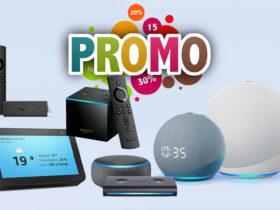 Promotions sur la nouvelle génération Amazon Echo et Alexa à -60%