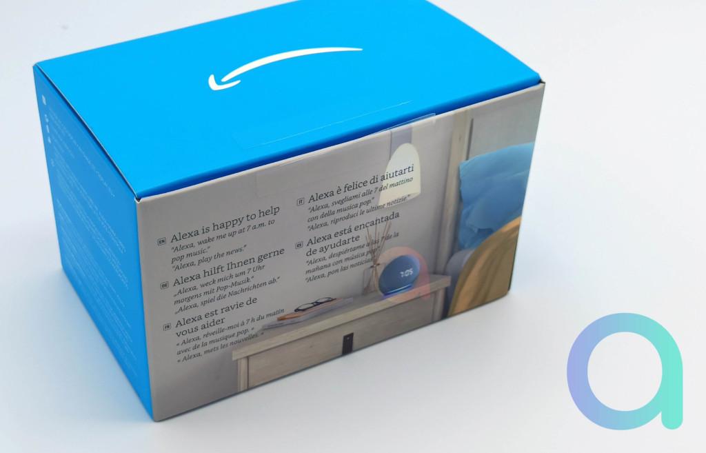 Le packaging du nouvel Echo Dot 4 ème génération