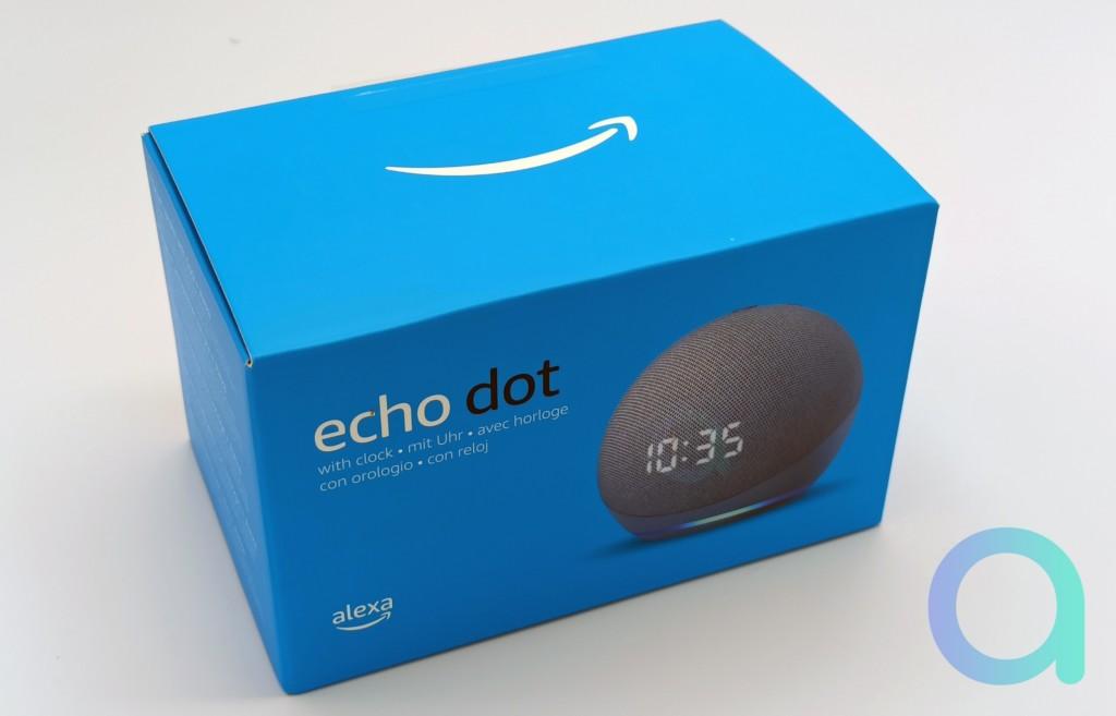 Unboxing Amazon Echo Dot 4