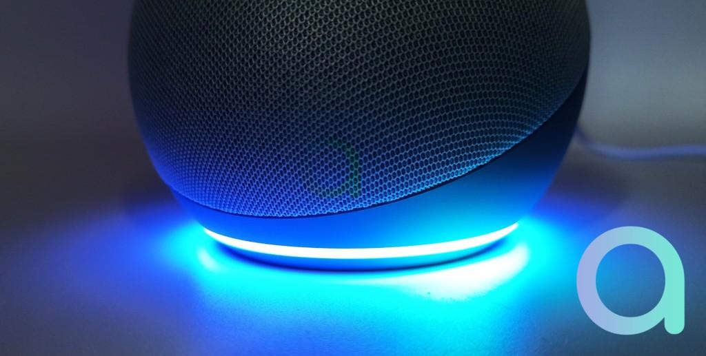 L'anneau lumineux Alexa sur Echo Dot 4