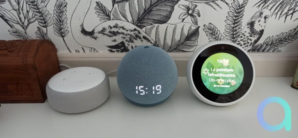 Echo Dot 3 vs Echo Dot 4 vs Echo Spot
