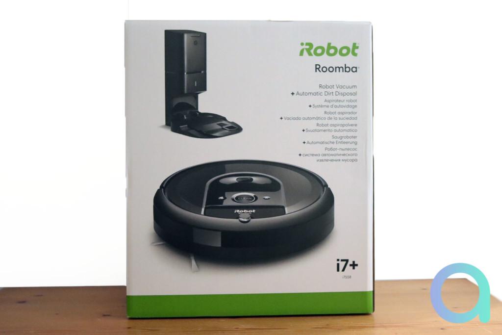 Unboxing du iRobot i7+ ou i7556