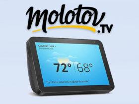 Molotov enfin disponible sur Alexa et Amazon Echo Show