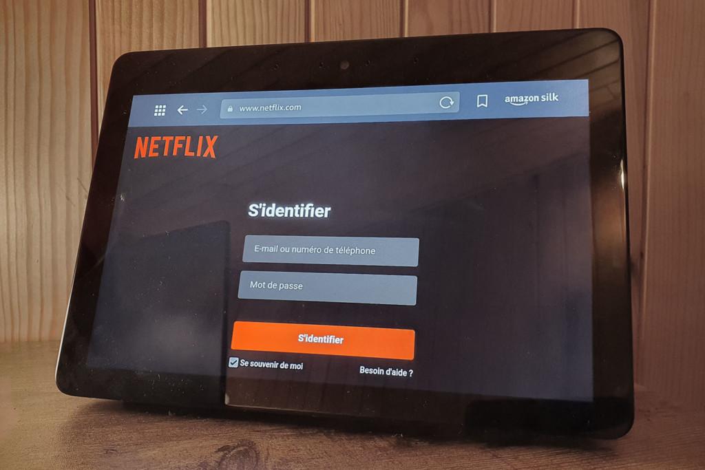 Utiliser Netflix sur Echo Show