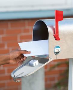 Détecteur de mouvement compatible Alexa Echo pour boite aux lettres