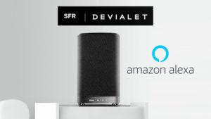 SFR HomeSound : une enceinte connectée Devialet avec Amazon Alexa