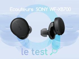 Notre avis sur les Sony WF-XB700, des écouteurs true wireless Bluetooth pas cher