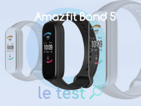 Notre avis sur le bracelet Amazfit Band 5 avec Alexa