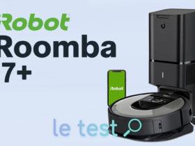 Notre avis sur l'aspirateur iRobot Roomba i7+ avec sa station de vidage.