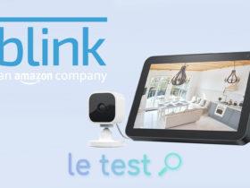 Notre avis sur la caméra Blink Mini compatible Alexa et Echo Show
