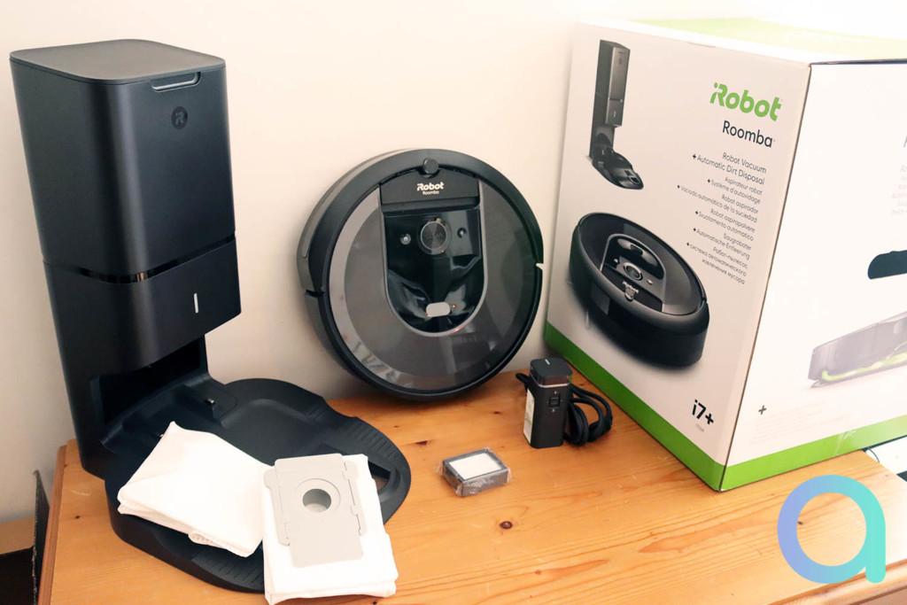 Test complet du iRobot Roomba i7+ avec sa station d'autovidage