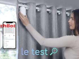 Notre avis sur le SwitchBot Curtain pour automatiser des rideaux avec Alexa et Google Home !