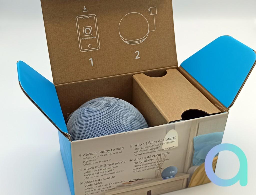 Echo Dot 4 dans son carton !