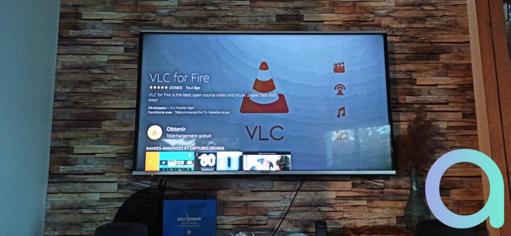 VLC for Fire TV Stick ou Fire TV Cube