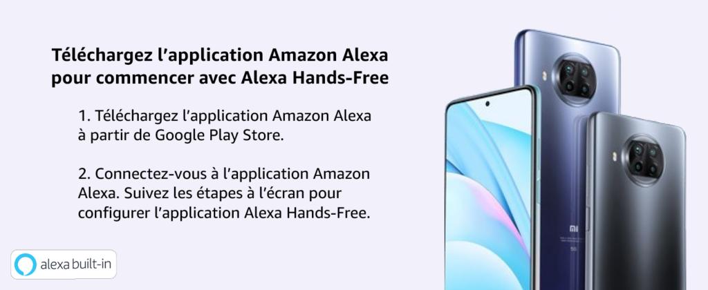 Xiaomi Mi Lite T10 avec Amazon Alexa