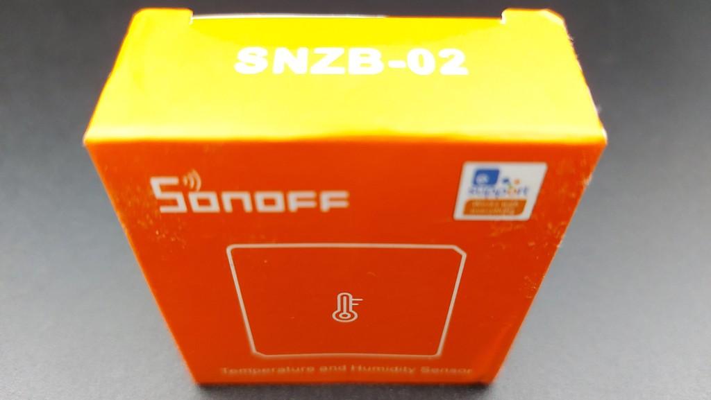 Test Sonoff ZBBridge avec capteur de température Sonoff SNZB-02