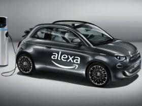 Amazon Alexa est disponible sur la nouvelle Fiat 500 électrique