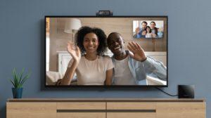 Amazon annonce la gestion des webcams sur Fire TV Cube