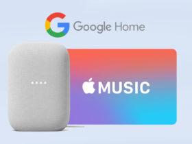 Google annonce la disponibilité en France de Apple Music sur Google Home