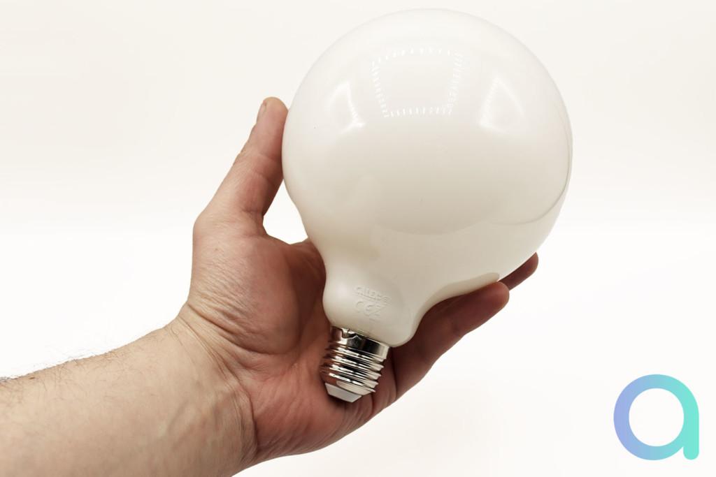 Test de l'ampoule Calex Globe Lamp avec Alexa et Google Assistant