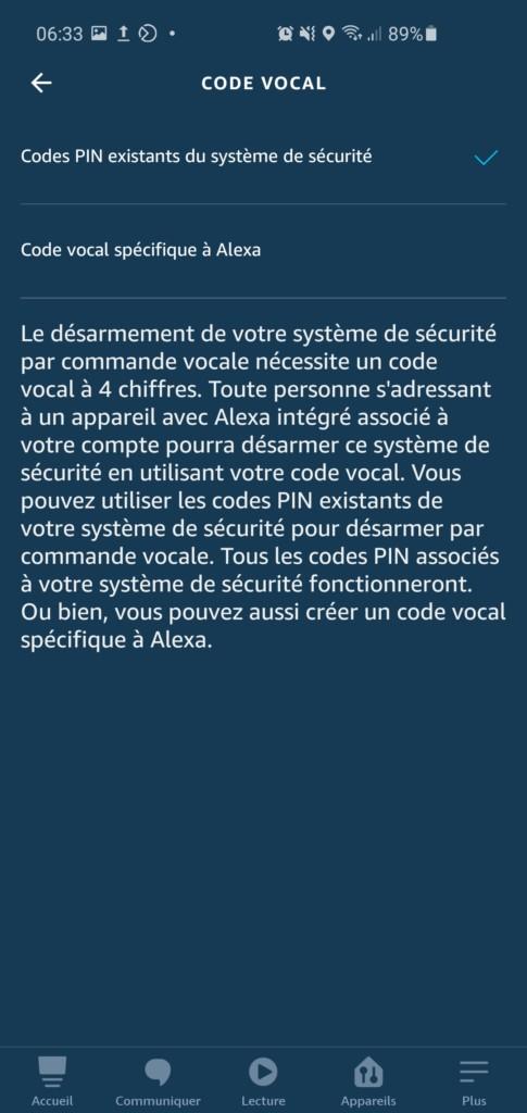 Ring Alarm est compatible Amazon Alexa