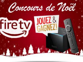 Tentez de gagner un Amazon Fire TV Cube pour Noël
