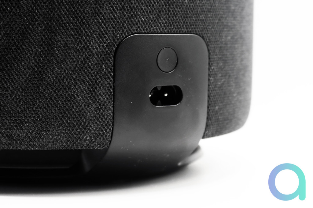 La connectique d'Amazon Echo Sub