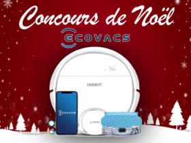 Gagnez un aspirateur robot Ecovacs Deebot Ozmo 905 avec notre concours de Noël
