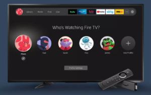 Profils utilisateurs dans Amazon Fire TV OS 2021