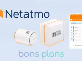 Le thermostat Netatmo en promotion à -33% sur Amazon