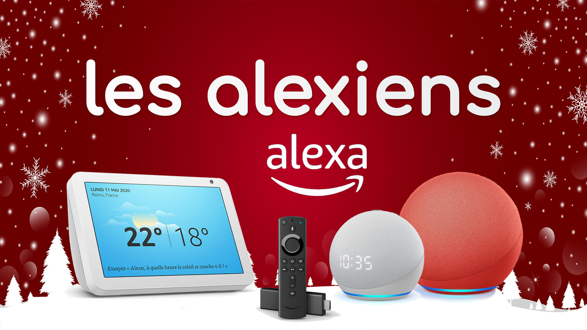 Amazon Alexa & Echo 🇫🇷 - Les Alexiens