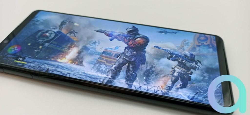 La qualité d'image en jeu vidéo du Sony Xperia 5 II