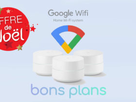Vente flash de Noël sur Google Wifi en promo