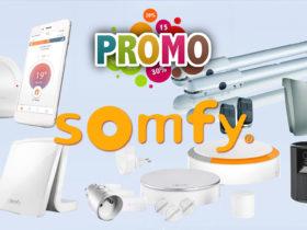 Promotions sur la domotique Somfy sur Amazon