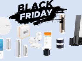 Promotions Black Friday de Netatmo : caméras, alarme, station météo et thermostats connectés !