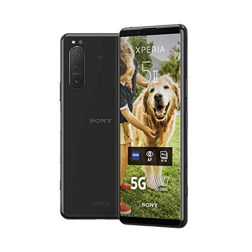 Sony Xperia 5 II Téléphone portable | Design compact | Écran 21:9 CinemaWide™ | Eye AF en temps réel