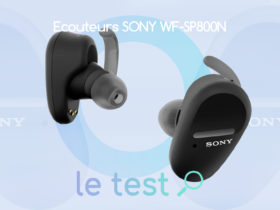 Notre avis sur la qualité de son audio des écouteurs Sony WF-SP800N