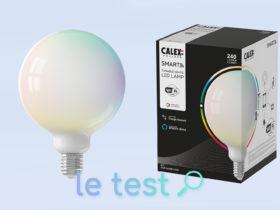 Notre avis sur l'ampoule Calex Smart Globe Lamp G125 E27