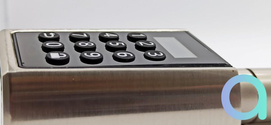 Le clavier de la We Lock Soho