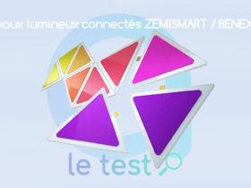 Notre avis sur les Smart Light Panels de Zemismart - Benexmart