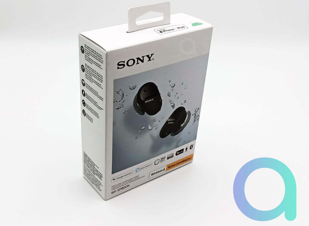 Sony wf-sp800n : unboxing du test de qualité audio