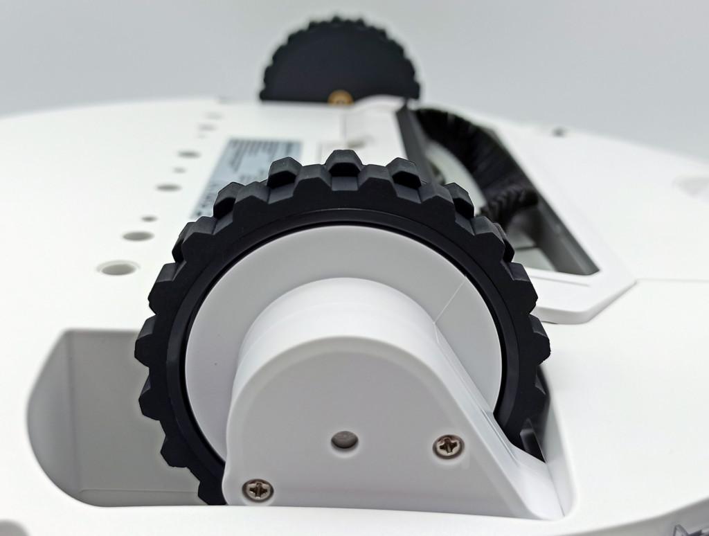 les roues du Viomi SE ont un débattement de 2 cm