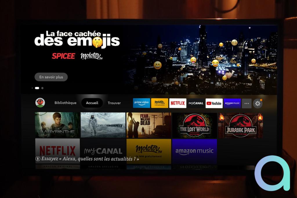 Notre avis sur Fire TV Stick Lite et sa nouvelle interface