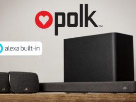 Polk Audio dévoile une barre de son home cinéma compatible Alexa et Amazon Echo