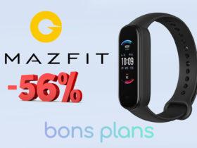 Grosse promo sur le bracelet Amazfit Band 5 !