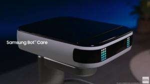 Samsung Bot Care : un robot avec assistant vocal qui se déplace