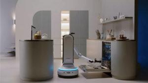 Samasung dévoile une série de robots ménagers pour notre quotidien