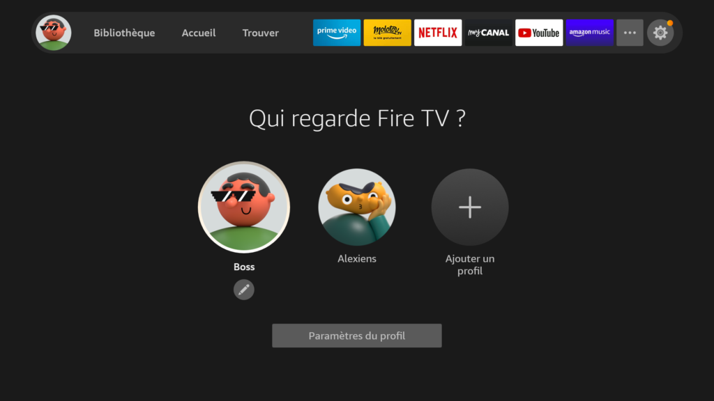 Capture Fire TV OS 2020